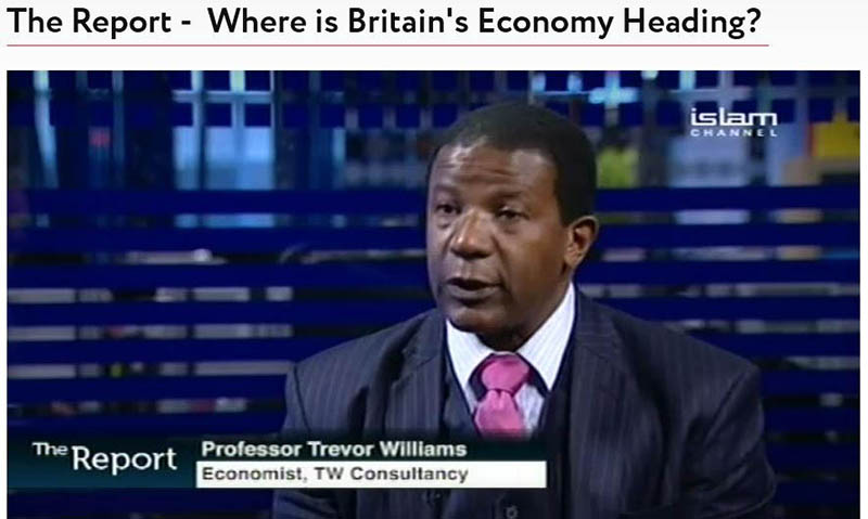 Trevor Williams appears on The Report - Where is Britain's Economy Heading?